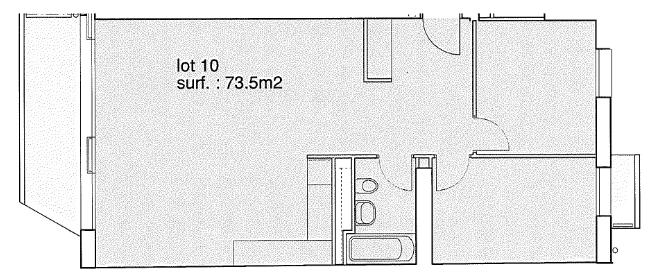 Rue de la Pontaise 10, Lausanne - 3,5 pièces - Lot 10 19