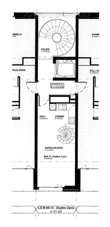 Rue Beau-Séjour 8, Lausanne - 2,5 pièces - 5/6ème (Duplex) 1