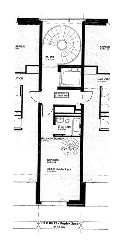 Rue Beau-Séjour 8, Lausanne - 2,5 pièces - 5/6ème (Duplex)