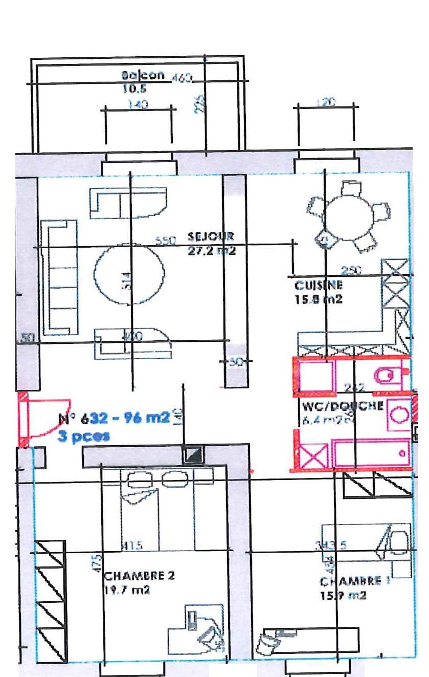 Ch. du Closelet 4, Lausanne - 3,5 pièces - Lot 21 19