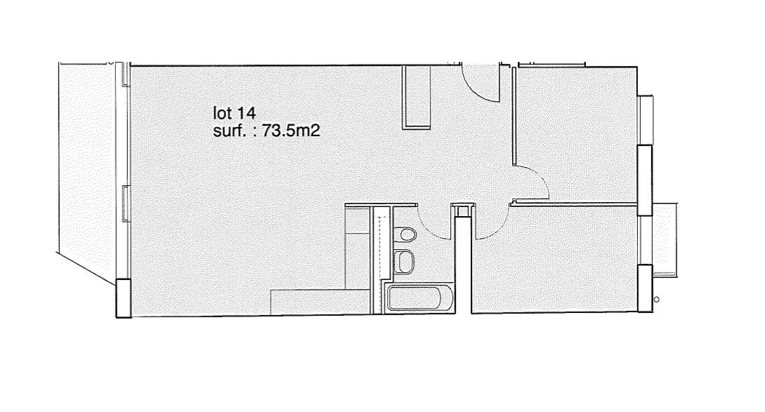 Rue de la Pontaise 10, Lausanne - 3,5 pièces - Lot 14 41