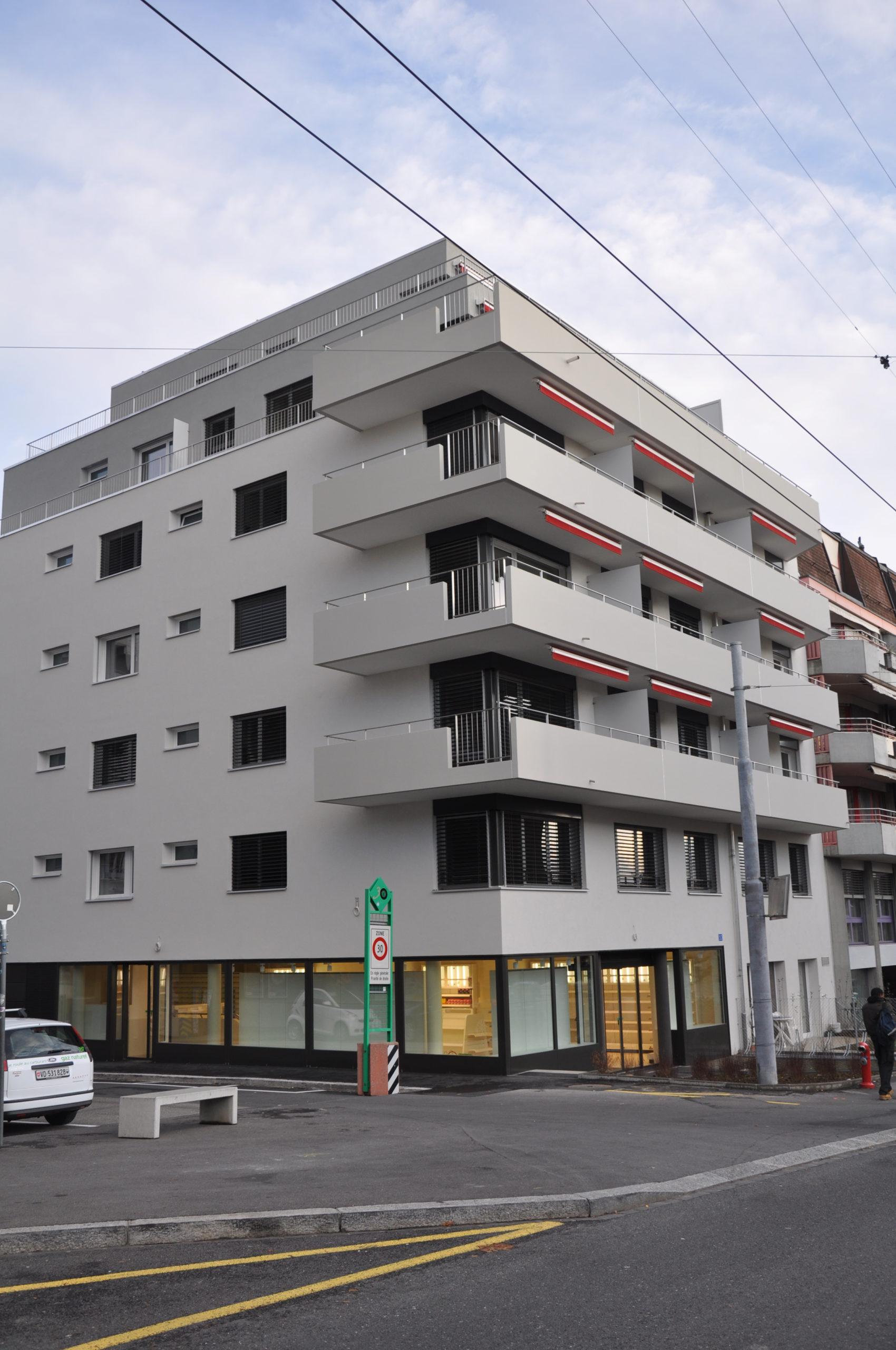 Rue de la Pontaise 10, Lausanne - 2,5 pièces - Lot 12 2